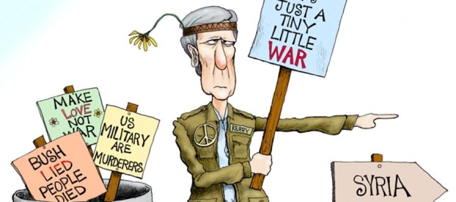 Kerry's Unbelievably Small War (Cartoon)