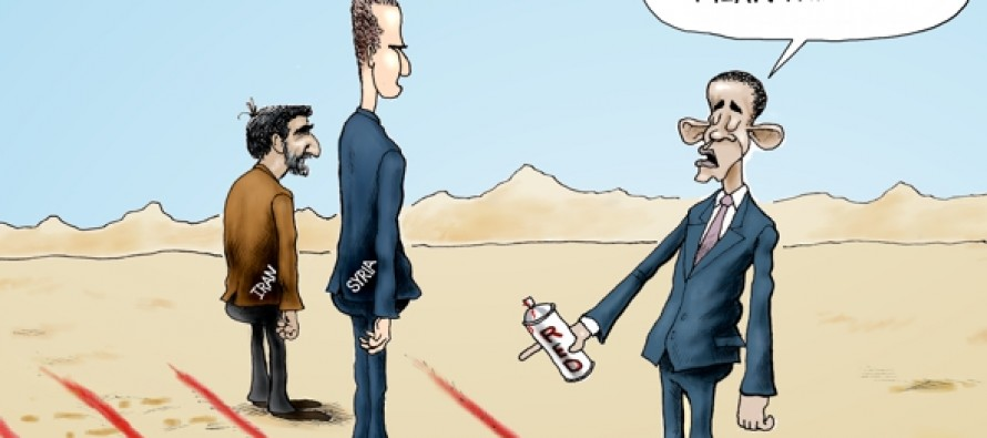 The Year in Seeing Red Lines (Cartoon)