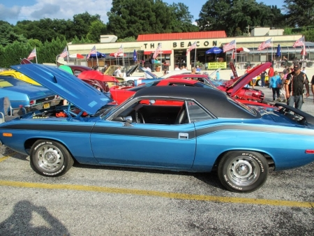 Plymouth 'Cuda 2nd Place