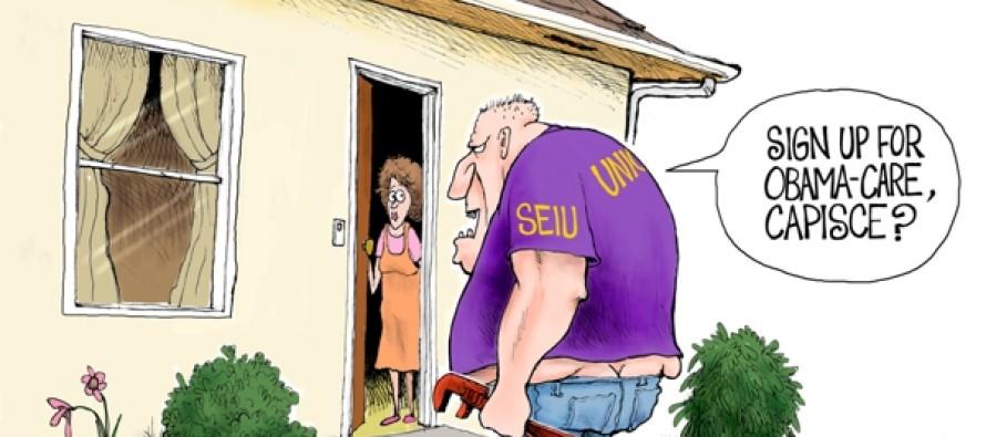 Obamacare's Enforcers (Cartoon)