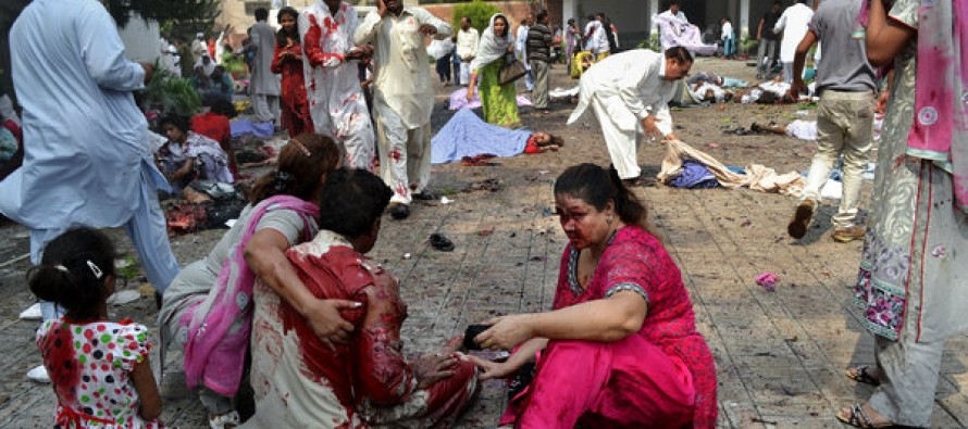 BREAKING: Suicide Attack at Christian Church in Pakistan Kills at least 75 worshipers, 100 wounded including children