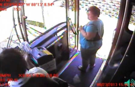 racist bus driver