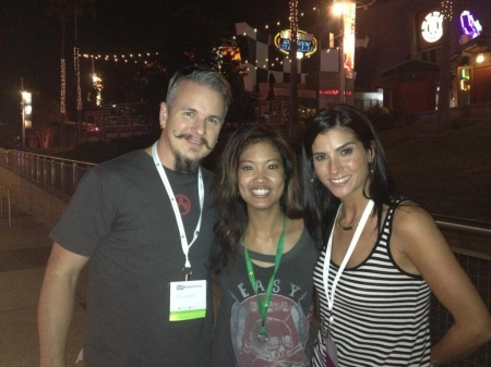 Chris Loesch, Michelle Malkin & Dana Loesch roam the amusement park