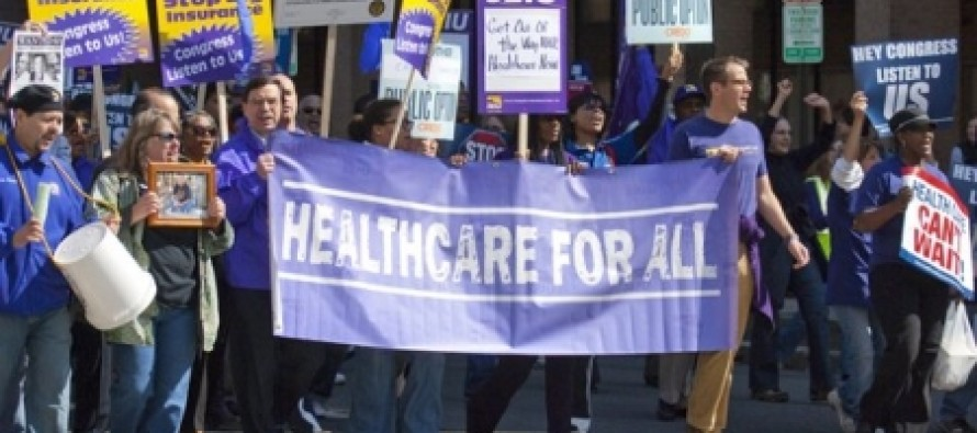 Just Deserts: SEIU Workers On Strike Over Job Losses Caused By Obamacare