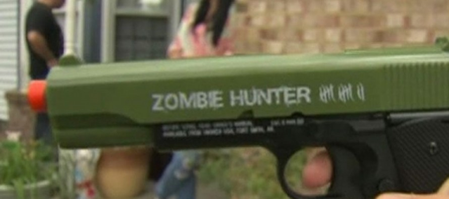 School Gives Children Three Month Suspensions For Playing With Toy Guns In Their Own Yard