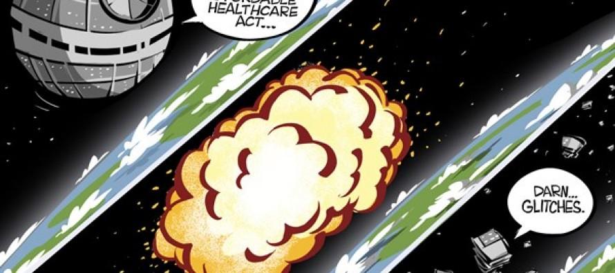Fully operational ObamaCare (Cartoon)