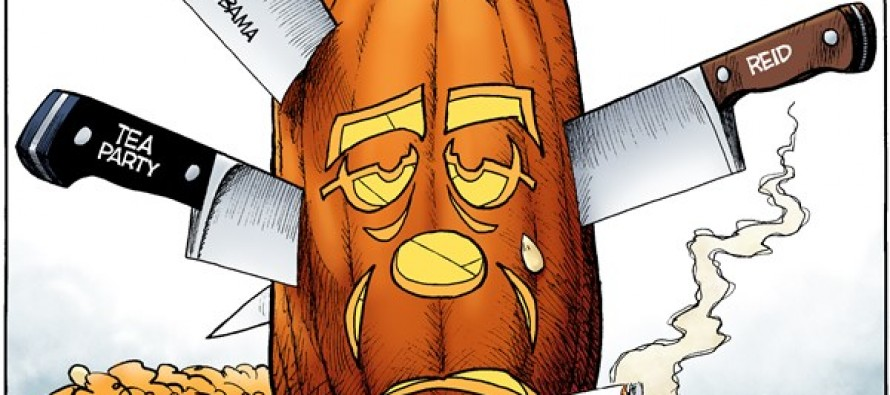 Carving Boehner (Cartoon)