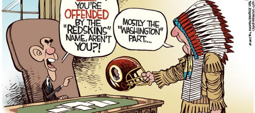 Washington Redskins (Cartoon)