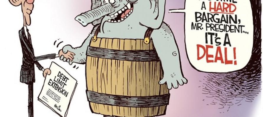 Debt Ceiling Deal (Cartoon)
