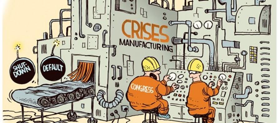 Manufacturing Crises (Cartoon)