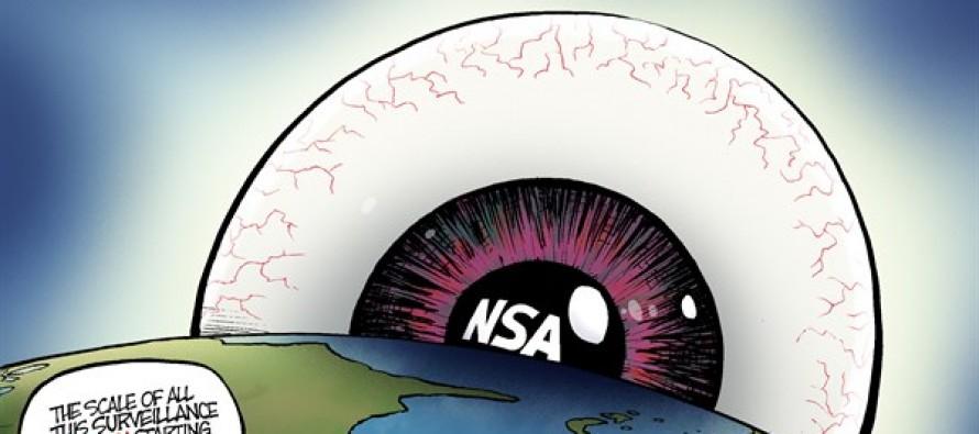NSA Spying (Cartoon)