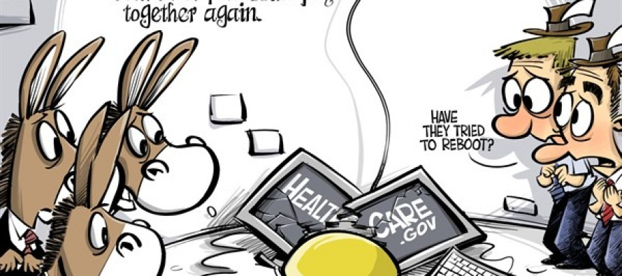 ObamaCare had a great fall (Cartoon)