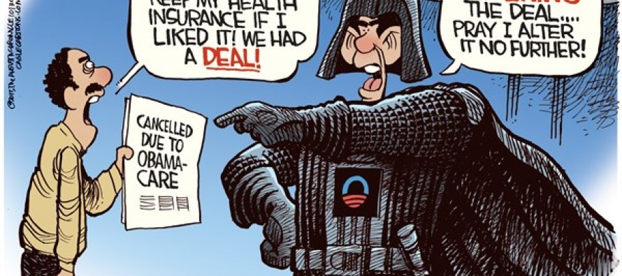 Darth Obama (Cartoon)
