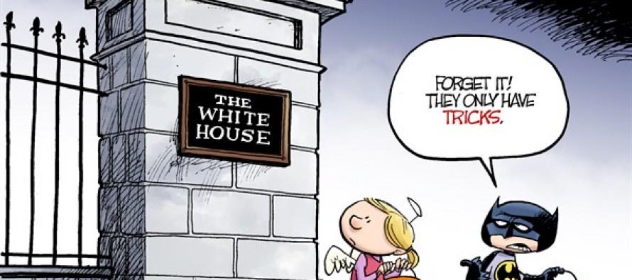 Obamacare Halloween (Cartoon)