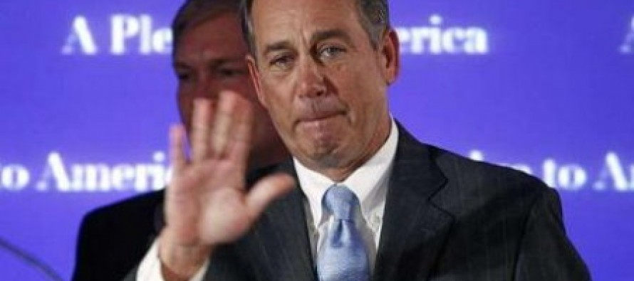 Judge Andrew Napolitano: House Sources Say John Boehner Is About To Lose His Speakership Over Gov't Shutdown Surrender