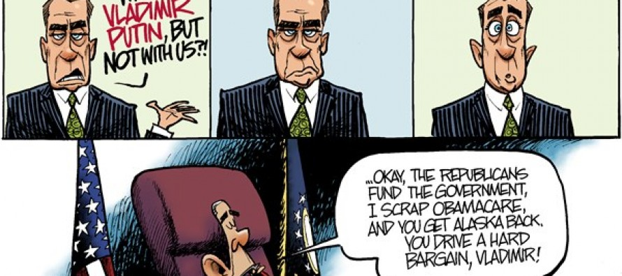 Boehner Hatches a Plan (Cartoon)