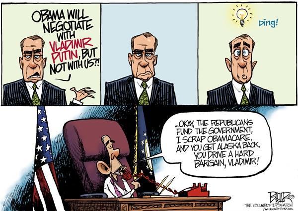Boehner Hatches a Plan
