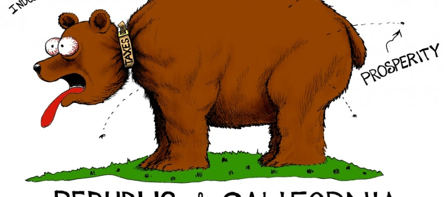 California Flee Collar (Cartoon)