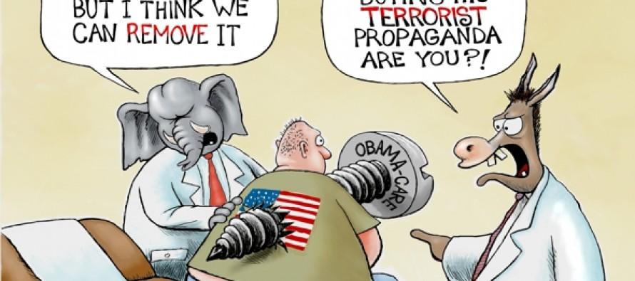 The Obama-Screw (Cartoon)