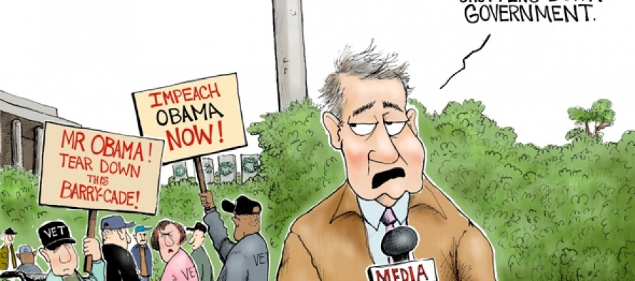 Barry-cade Shutdown (Cartoon)