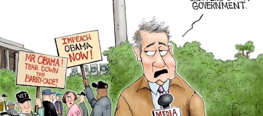 Barry-cade Shutdown (Cartoon)