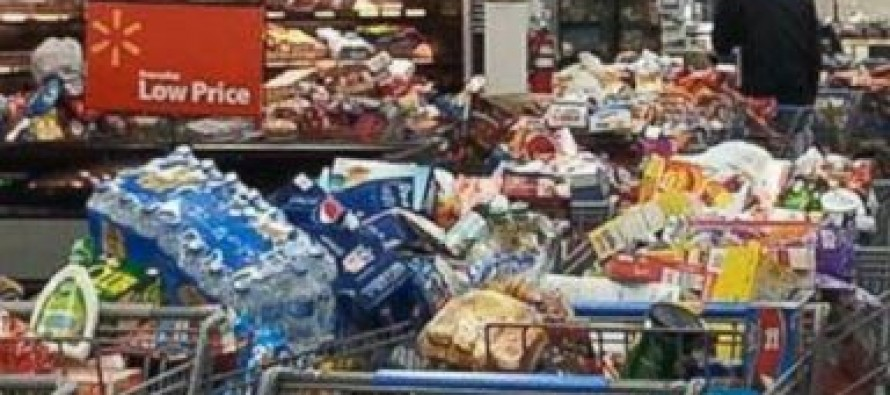 Food Stamp Crooks Ransack Wal-Mart