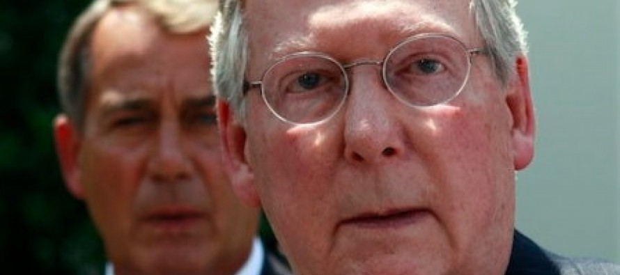 John Boehner And Mitch McConnell Should Surrender Their Jobs Like They Surrendered To Obama