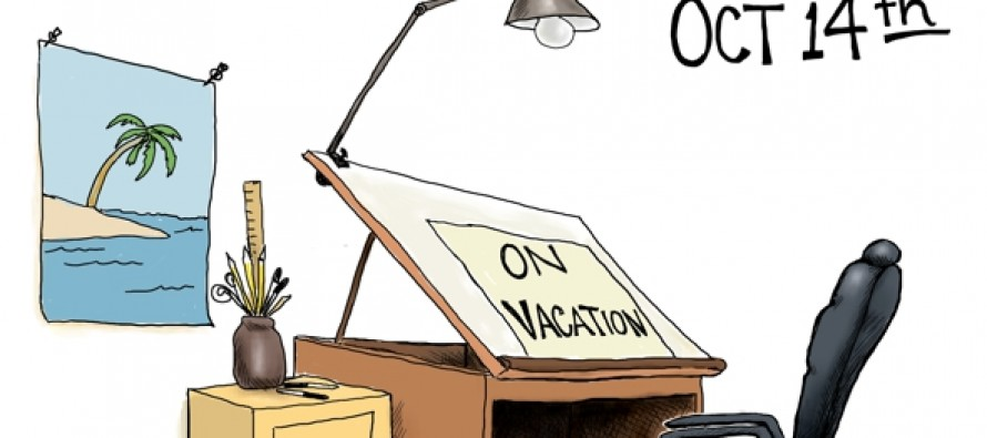 A.F.Branco On Vacation (Cartoon)
