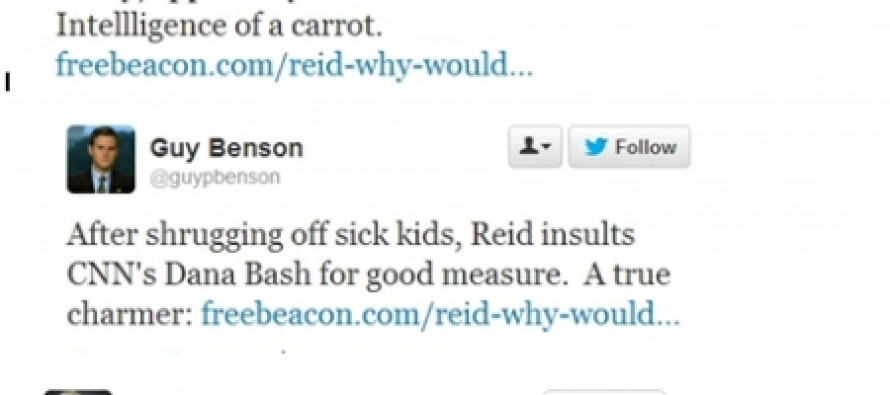 Reid's callous remarks about kids with cancer spark outrage