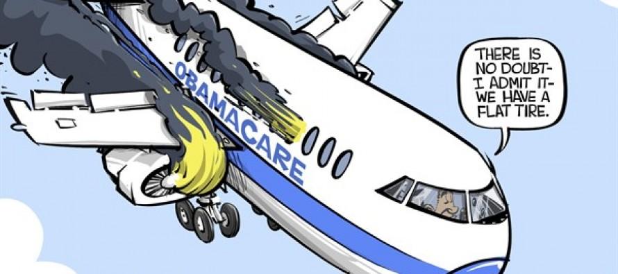 ObamaCare problem (Cartoon)
