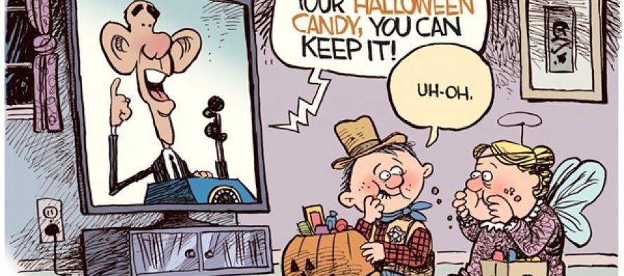 Obama Candy (Cartoon)