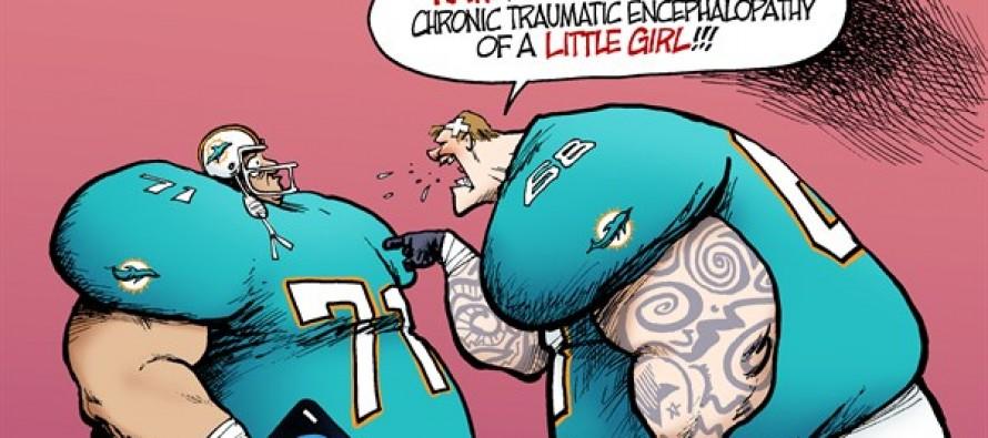 NFL Bullying (Cartoon)