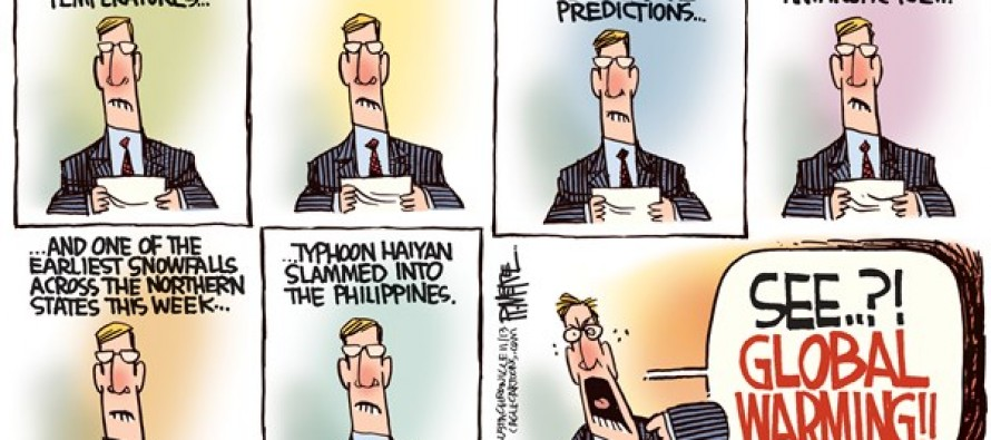 Typhoon Haiyan (Cartoon)