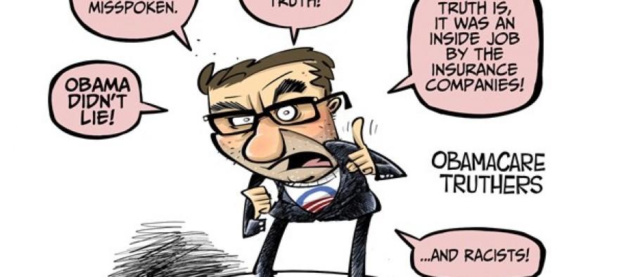 Defending Obama (Cartoon)