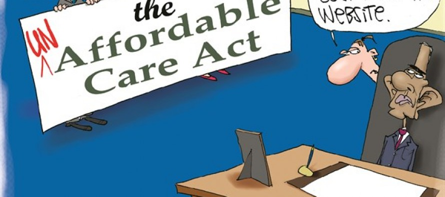 Un-Affordable Care Act (Cartoon)