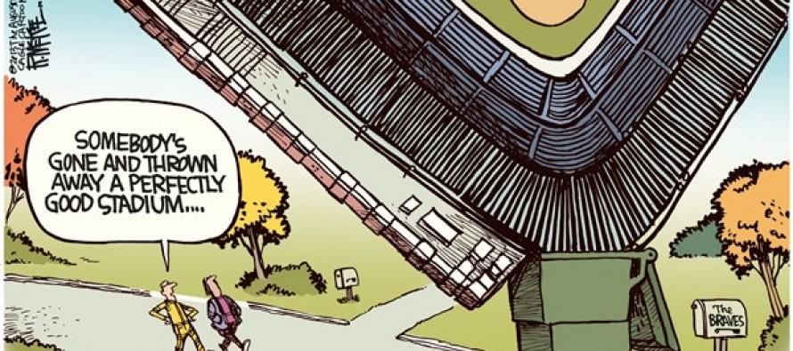 Atlanta Braves Stadium (Cartoon)