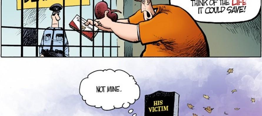 Local OH -Death Row Donor (Cartoon)