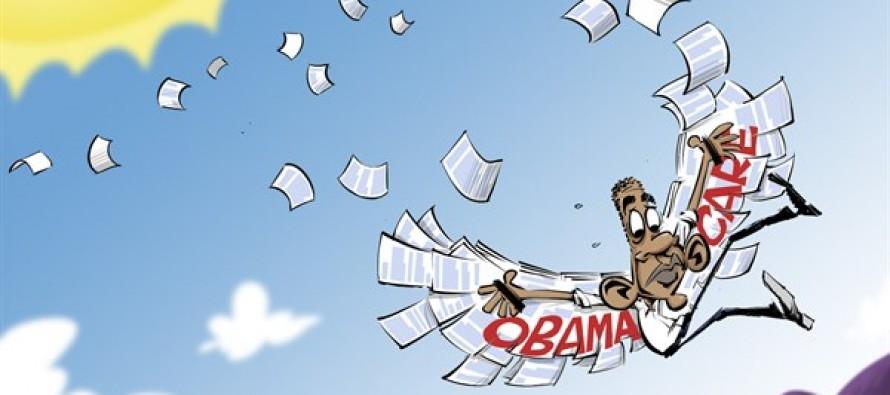 ObamaCare overreach (Cartoon)