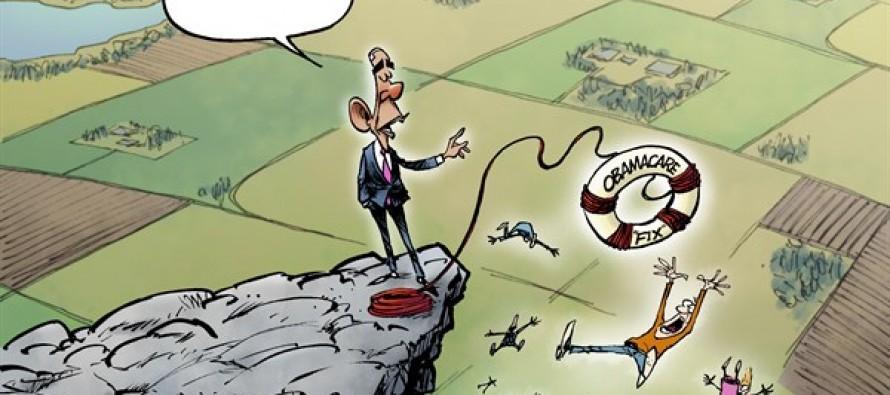Obamacare Fix (Cartoon)