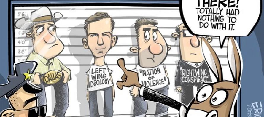 Kennedy assassination (Cartoon)