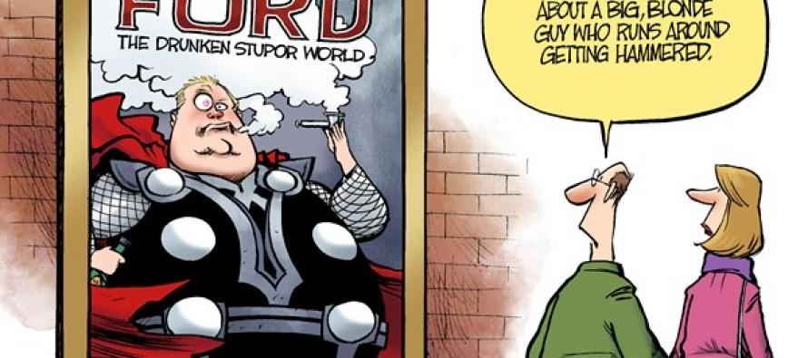 Rob Ford Movie (Cartoon)