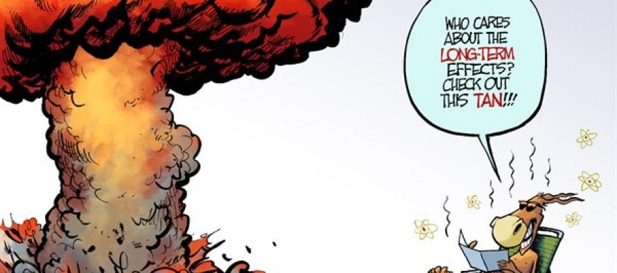 Democrats Go Nuclear (Cartoon)