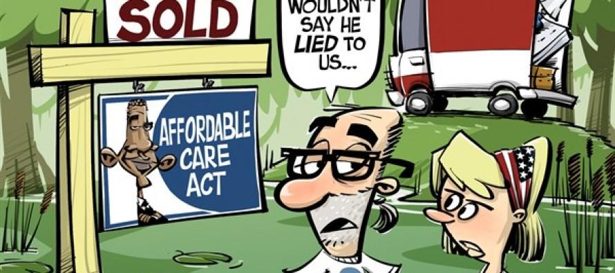 ObamaCare Swamp (Cartoon)