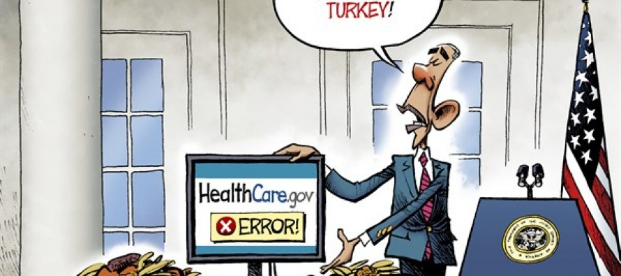 Turkey Pardon (Cartoon)