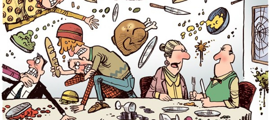 Thanksgiving 2013 (Cartoon)