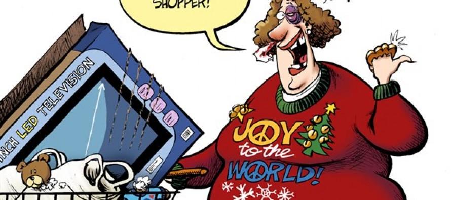 Holiday Shopping (Cartoon)