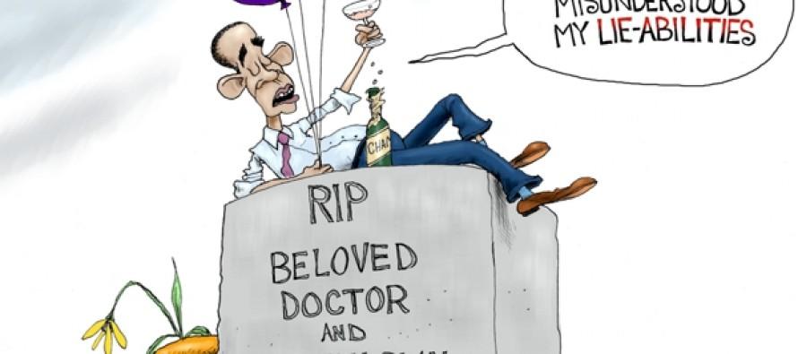 Obama's apology (Cartoon)