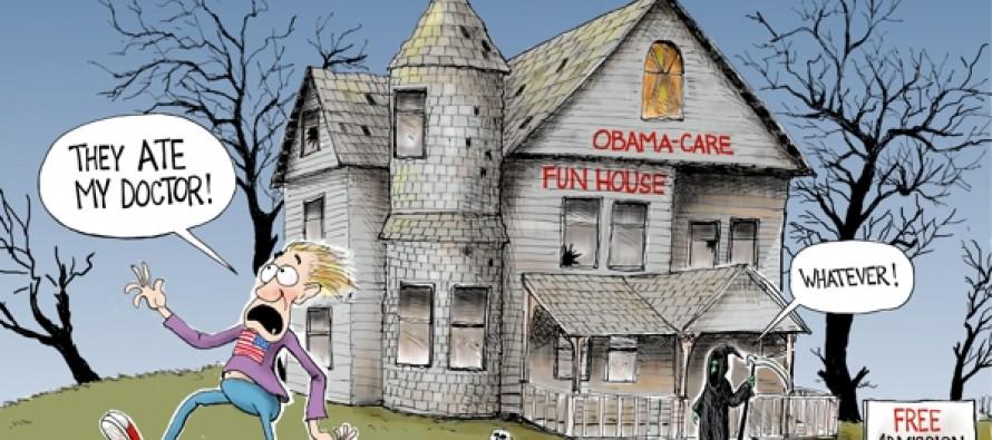 Healthscare.gov (Cartoon)