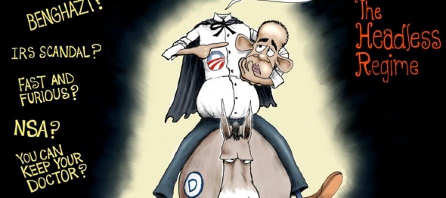 The Headless Obama Regime (Cartoon)