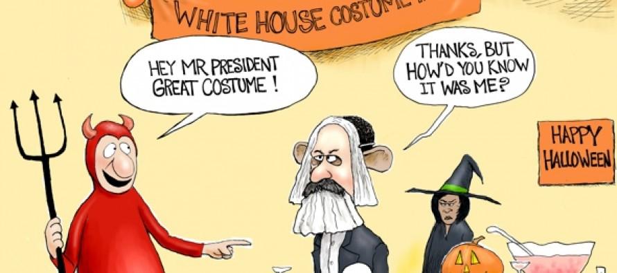 Obama Incognito (Cartoon)